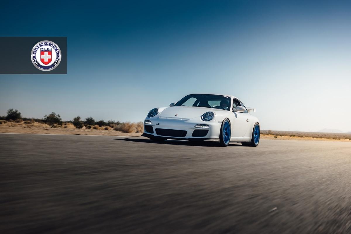 Porsche 997 GT3 with HRE R101