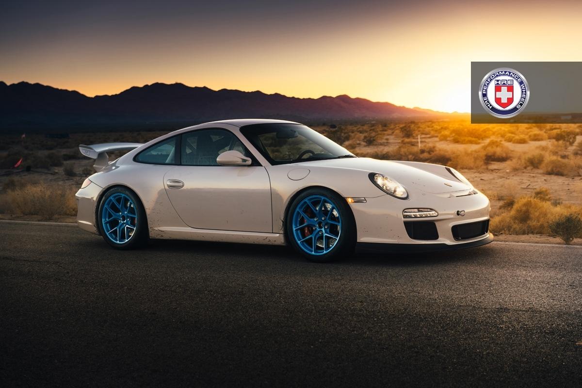 Porsche 997 GT3 x HRE R101