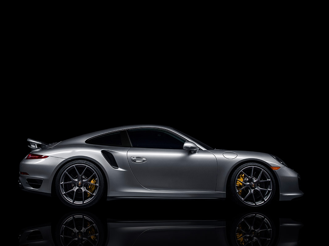 Porsche 911 Turbo with HRE P101