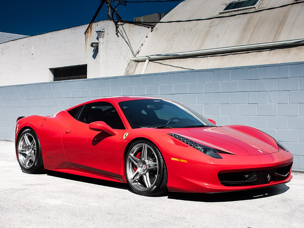 Ferrari 458 with HRE P47SC
