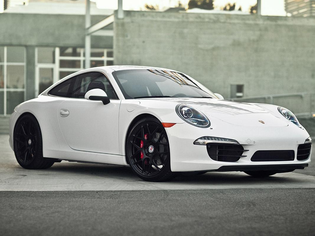 Porsche 991 with HRE P40SC