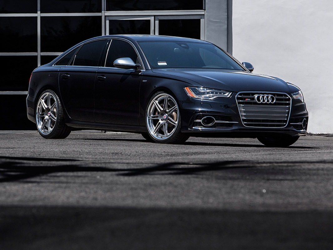 Audi S6 with HRE RS101