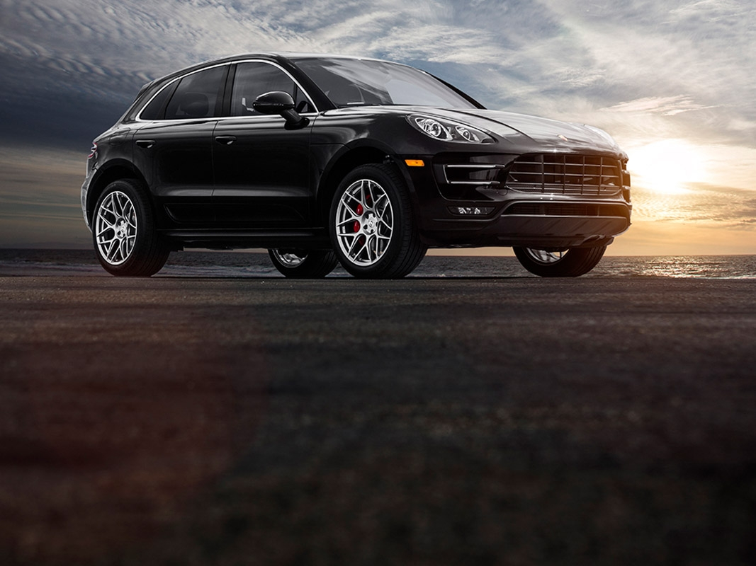 Porsche Macan with HRE FF01