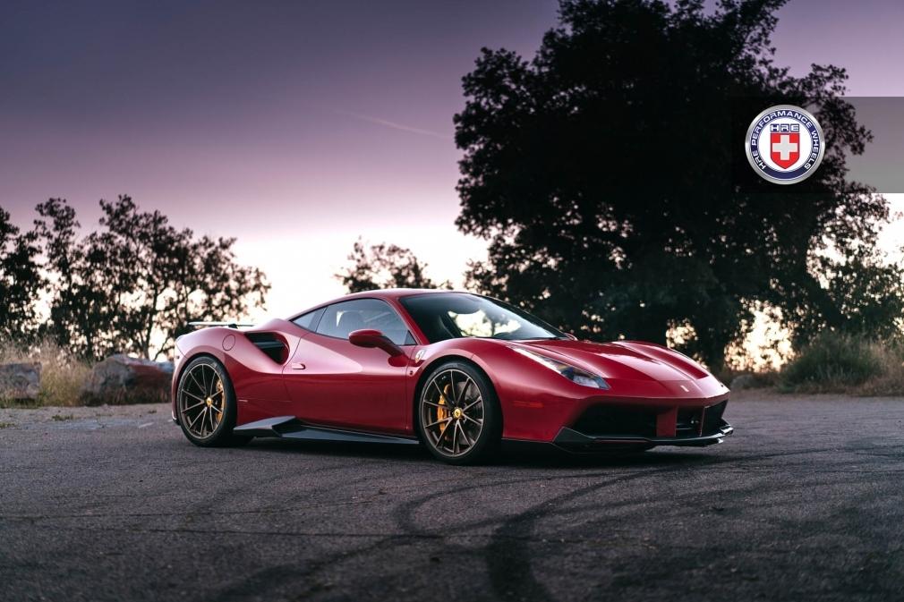 Ferrari 488 x HRE P204