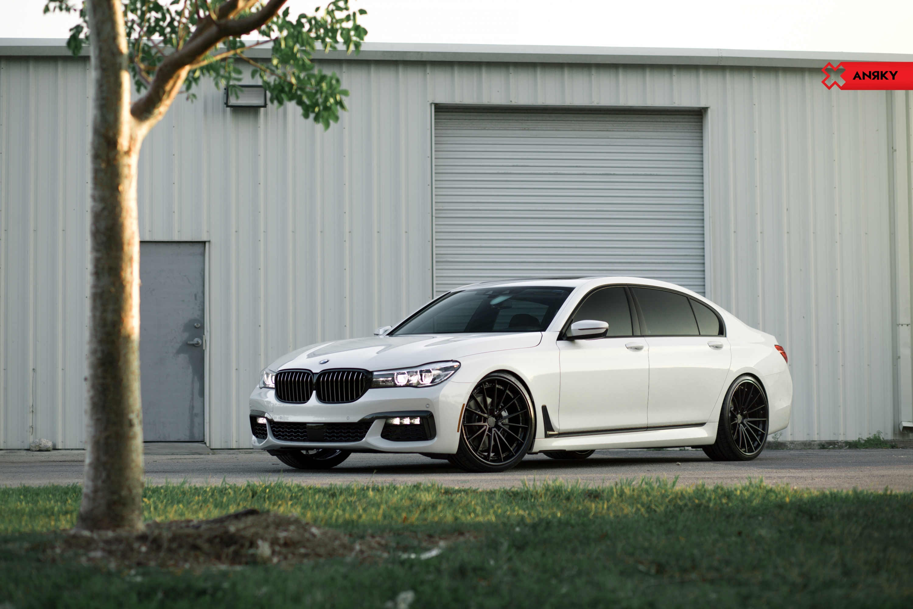BMW 7 Series x ANRKY AN39 Wheels