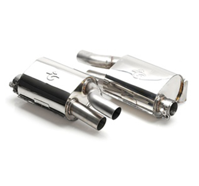 Tubi Style Porsche Cayman/Boxster Exhaust System (2005-2008)