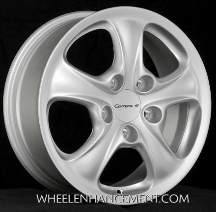 Porsche 996 C4 wheel