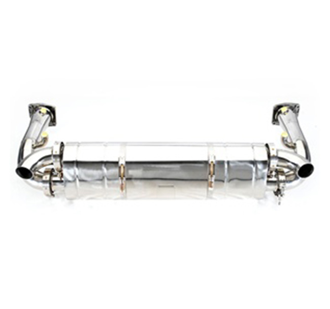 Tubi Style Porsche 997.1 Turbo Race Exhaust System