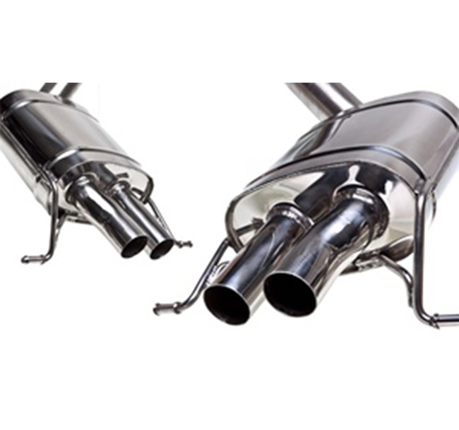 Tubi Style Bentley Continental GT Mufflers
