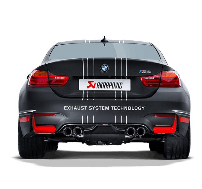 Akrapovic Rear Carbon Fiber Diffuser BMW M3 (F80) M4 (F82, F83)