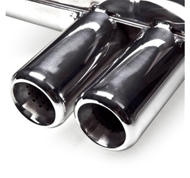 Tubi Style BMW E46 M3 Muffler with Tips