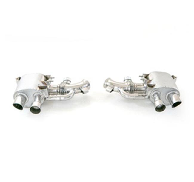 Tubi Style Ferrari F12 Mufflers (With Valve)