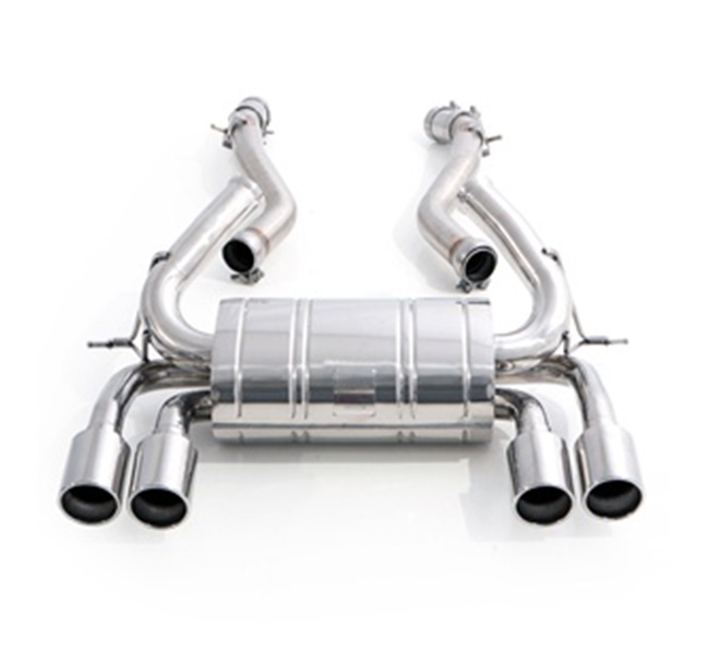 Tubi Style BMW F82 M4 Rear Muffler (Non-Valved)