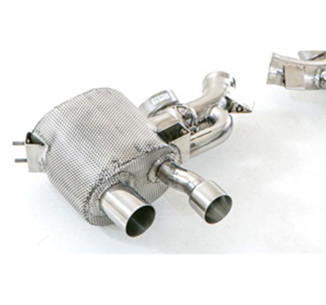 Tubi Style Ferrari FF Mufflers (with valve)