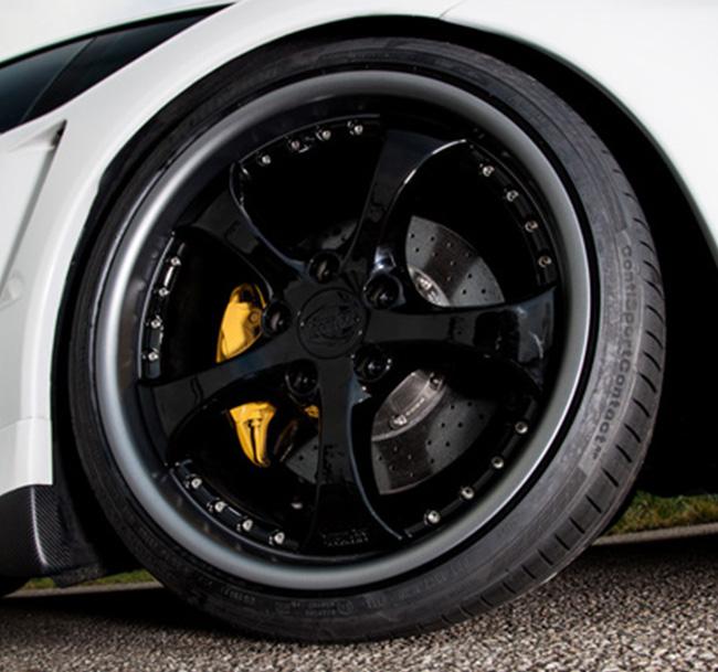 TECHART Formula II GTR Wheel