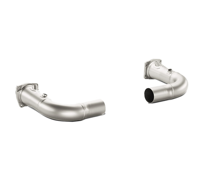 Akrapovic Link Pipe Set w/o Cat Porsche 911 Turbo/Turbo S (991)