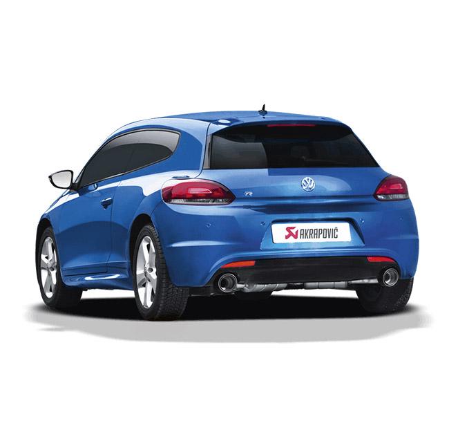 Akrapovic Slip-On (SS) Volkswagen Scirocco R
