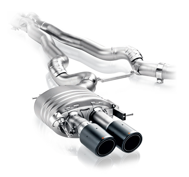 Akrapovic Evolution (Titanium) BMW M5 (F10)