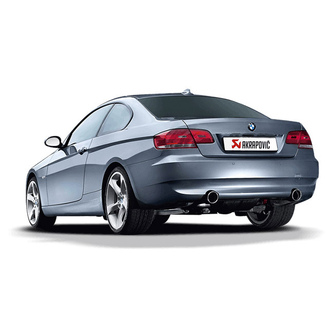 Akrapovic Slip-On (Titanium) BMW 335i (E92)