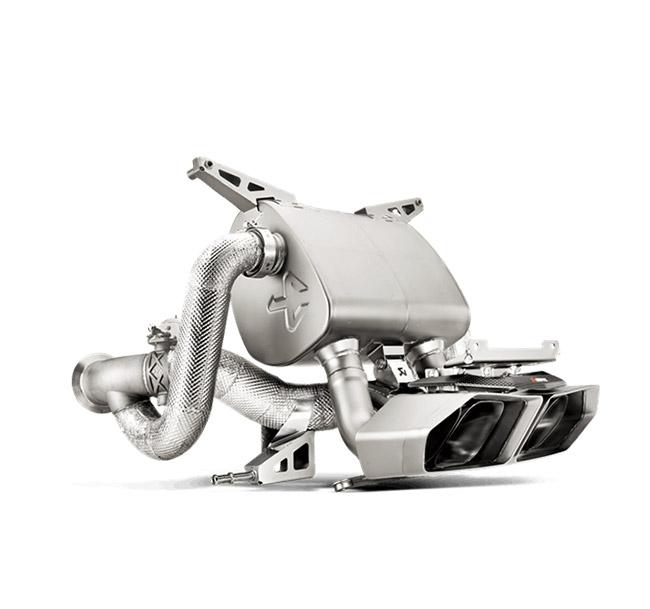 Akrapovic Slip-On (Titanium-Inconel) Lamborghini Aventador LP 700-4 Coupe/Roadster