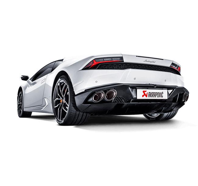 Akrapovic Slip-On (Titanium) Lamborghini Huracan LP 610-4 Coupe/Spyder
