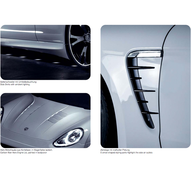 TECHART Aerokit I for 2nd Generation Porsche Panamera