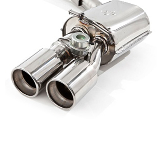 Tubi Style Porsche Panamera Turbo Exhaust System (With Valves)