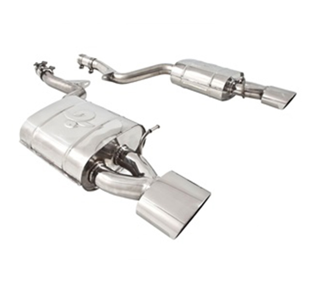 Tubi Style Audi RS4 Oval Tip Exhaust System