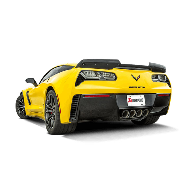 Akrapovic Evolution (Titanium) Chevrolet Corvette Z06/Stingray (C7)