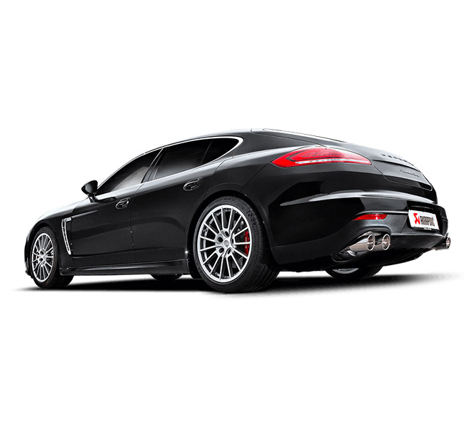 Akrapovic Evolution (Titanium) Porsche Panamera Turbo/Turbo S (970)