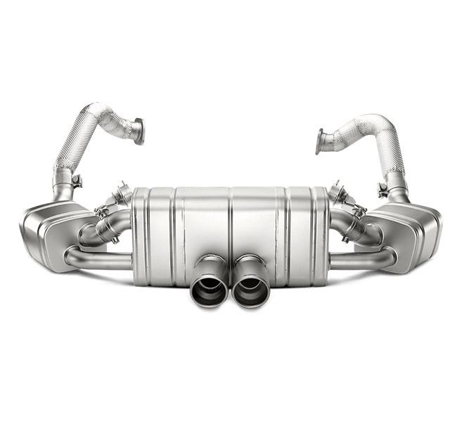 Akrapovic Slip-On (Titanium) Porsche Boxster/S/GTS (981)