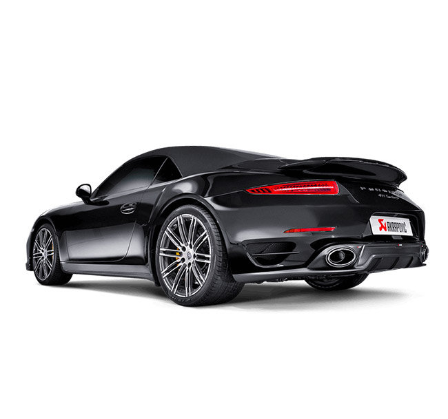 Akrapovic Slip-On (Titanium) Porsche 911 Turbo/Turbo S (991)
