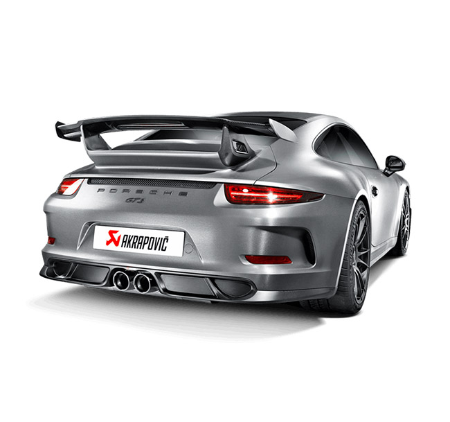 Akrapovic Evolution (Titanium) Porsche 911 GT3/RS (991)