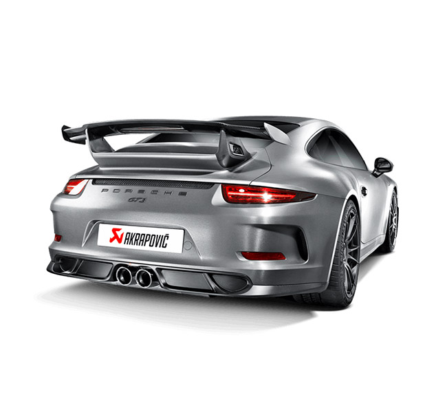 Akrapovic Evolution (Titanium) Race Porsche 911 GT3/RS (991)