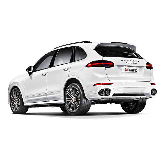 Akrapovic Evolution (Titanium) Porsche Cayenne Turbo (958 FL)