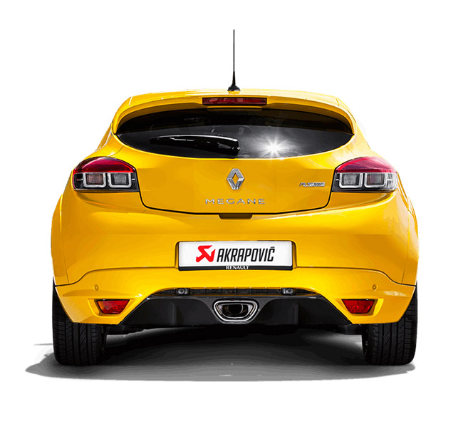 Akrapovic Evolution (Titanium) Renault Megane Coupe RS 2015
