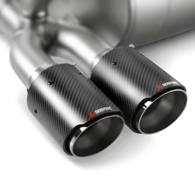 Akrapovic Tail Pipe Set (Carbon) BMW M3 (F80) M4 (F82, F83)