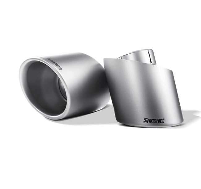Akrapovic Tail Pipe Set (Titanium) VW Scirocco R