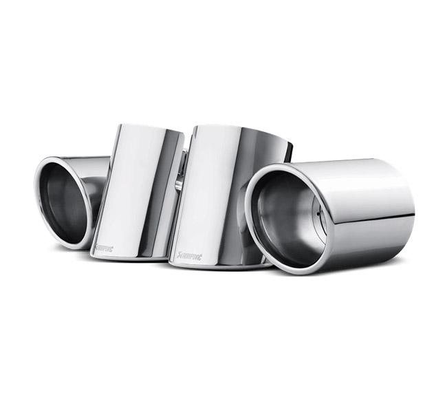 Akrapovic Tail Pipe Set (Titanium) Porsche Cayenne S/GTS/Hybrid/Turbo (958)