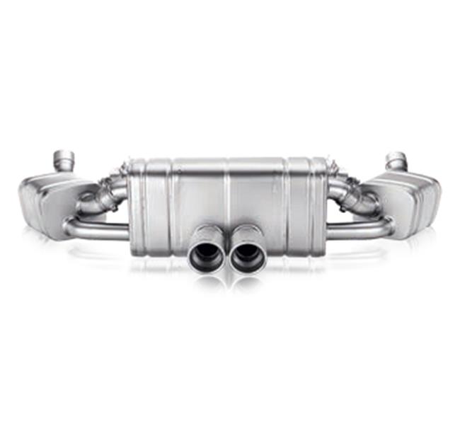 Akrapovic Slip-On (Titanium) Porsche Boxster/Boxster S (981) Cayman/Cayman S/GTS (981)