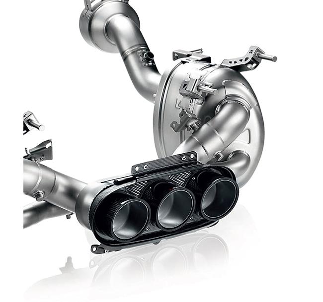 Akrapovic Slip-On (Titanium) Ferrari 458 Italia/458 Spider
