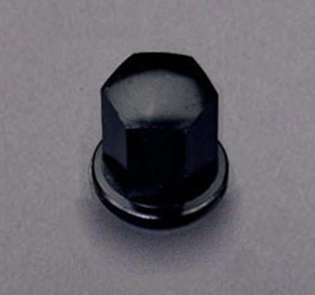 Porsche Lug Nut, Anodized Black