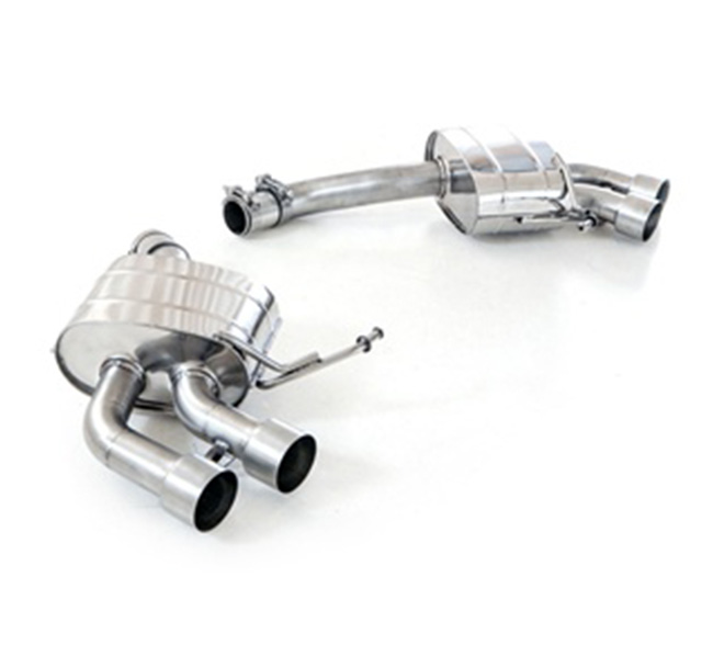 Tubi Style Porsche Macan Turbo Exhaust System