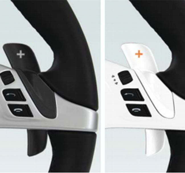 TECHART Paddle Shifter
