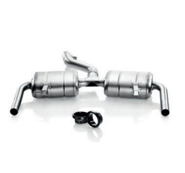 Akrapovic Slip-On (SS) Renault Clio III RS 200